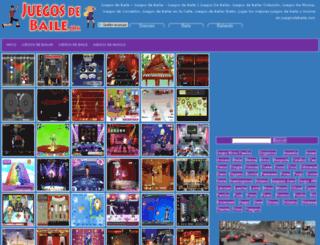 juegosdebaile.com screenshot