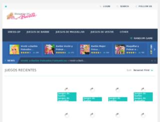 juegosdebarbieparavestirymaquillar.org screenshot