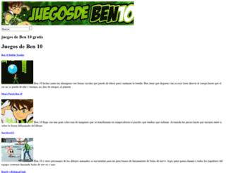 juegosdeben10.com screenshot