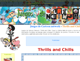 juegosdecartoonnetwork.org screenshot