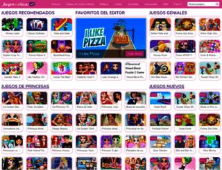 juegosdechicas.com screenshot