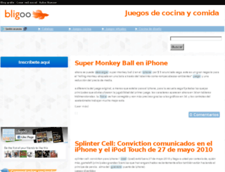 juegosdecocinaycomida.bligoo.com screenshot