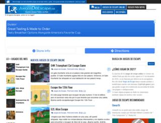 juegosdeescape.net screenshot