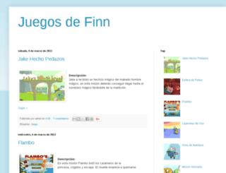 juegosdefinn.blogspot.com screenshot