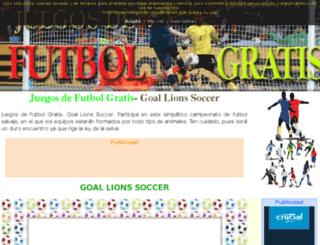 juegosdefutbolgratis.org screenshot