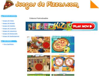 juegosdepizzas.com screenshot