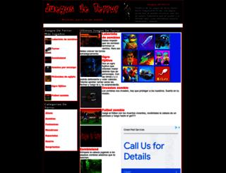 juegosdeterror.net screenshot