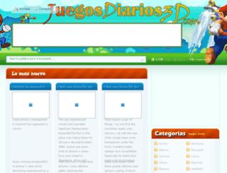 juegosdiarios3d.com screenshot