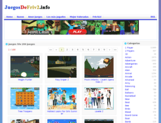 juegosfriv200juegos.juegosdefriv2.info screenshot