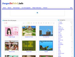 juegosfriv250juegos.juegosdefriv2.info screenshot