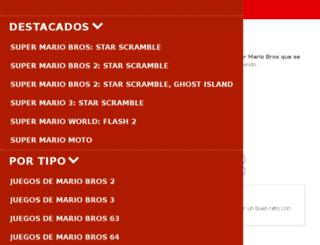 juegosgratisdemariobros.org screenshot