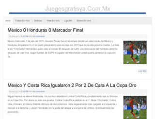 juegosgratisya.com.mx screenshot
