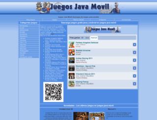 juegosjavamovil.com screenshot