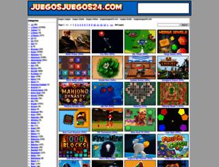 juegosjuegos24.com screenshot