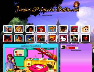 juegosprincesasofia.com screenshot