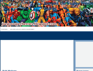 juegossuperheroes.blogspot.com screenshot