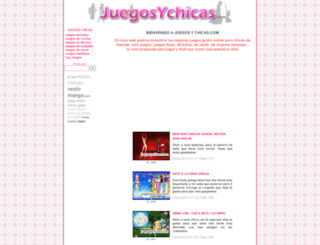 juegosychicas.com screenshot