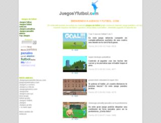 juegosyfutbol.com screenshot