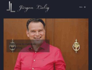 juergen-liebig.de screenshot
