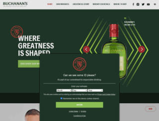 juevesbuchanans.com screenshot