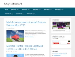 jugarminecraft.org screenshot