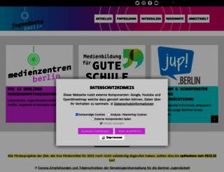 jugendnetz-berlin.de screenshot