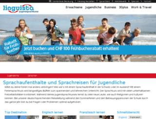 jugendsprachkurse.ch screenshot