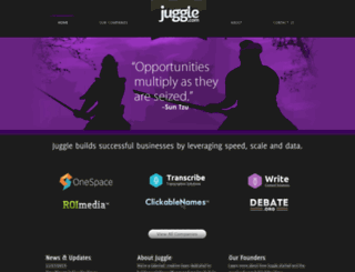 juggle.com screenshot