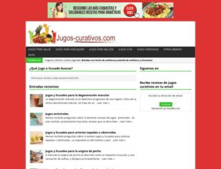 jugos-curativos.com screenshot