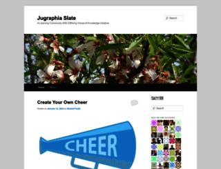 jugraphia.wordpress.com screenshot