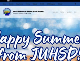 juhsd.net screenshot