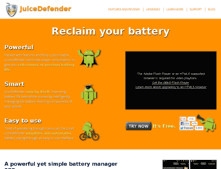 juicedefender.com screenshot