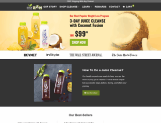 juiceintheraw.com screenshot
