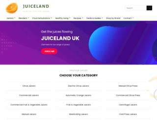 juiceland.co.uk screenshot