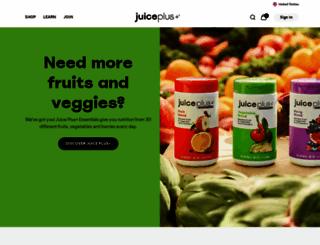 juiceplus.de screenshot