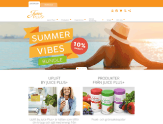juiceplus.se screenshot
