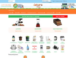 juicers4life.com screenshot
