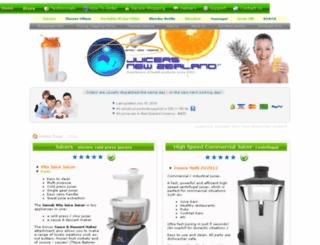 juicersnewzealand.co.nz screenshot