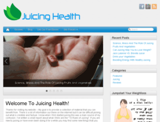 juicinghealth.net screenshot