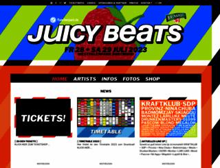 juicybeats.net screenshot