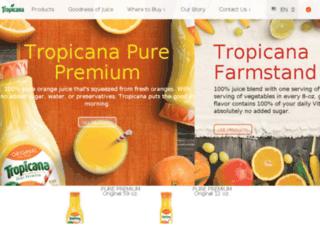 juicyrewards.tropicana.com screenshot