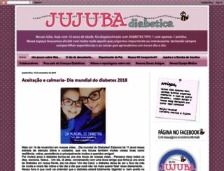 jujubadiabetica.blogspot.com screenshot