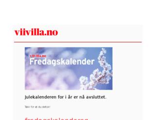 jul.viivilla.no screenshot