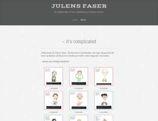 julensfaser.wordpress.com screenshot