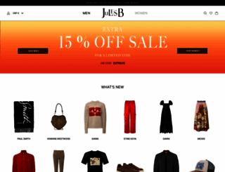 julesb.co.uk screenshot