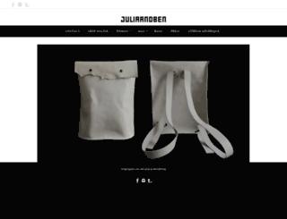 juliaandben.com screenshot