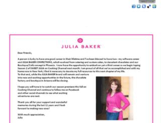 juliabaker.com screenshot