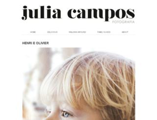 juliacamposfotografia.com screenshot