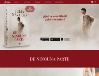 julianavarro.es screenshot
