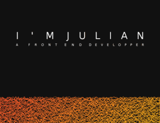 juliancaliot.fr screenshot